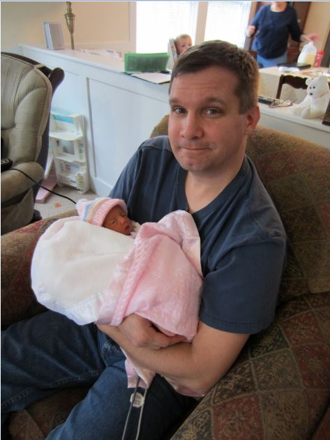 Alexandria and Me, 4 days old